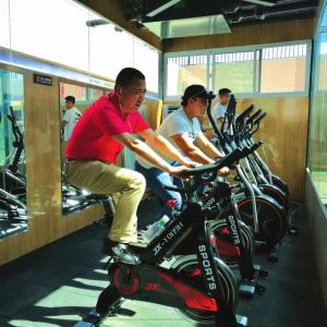【共享】西北首个社区智能共享健身舱在兰扩张