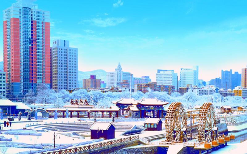 【践行十九大 全景看甘肃】兰州水车园