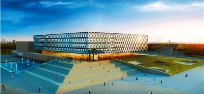 填补区域大型体育场馆空白 甘肃省体育馆明年初在新区投运