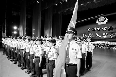 兰州警方用心守护百姓平安 党建促队建 提升凝聚力战斗力