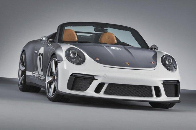 保时捷发布911 Speedster 概念车