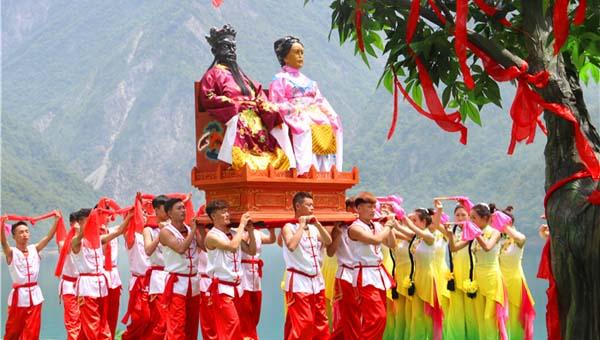 陇南文县以白马人文化为内核 打造九寨旅游黄金线上闪光点(组图)