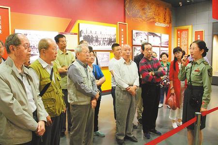 端午假期 大批游客前往红军会宁会师旧址参观