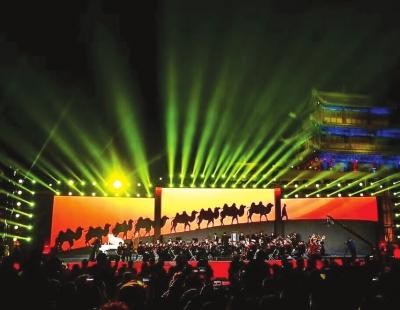 第八届敦煌行·丝绸之路国际旅游节昨晚在嘉峪关开幕