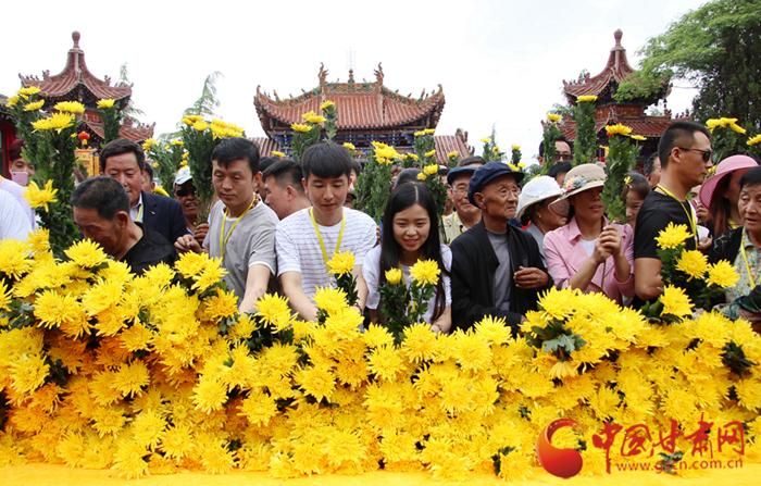 天水市秦安县举行2018年女娲文化旅游节暨女娲祭祀典礼