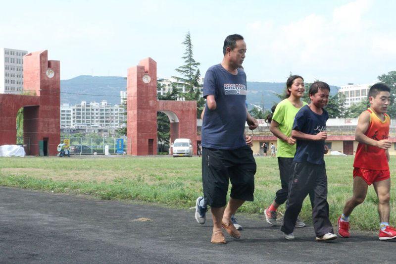 【走基层】残疾教练安军林带领家乡运动员勇创佳绩(图)