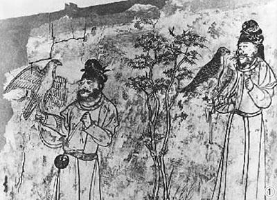 素练风霜起苍鹰画作殊――唐代壁画与诗歌中的猎鹰形象
