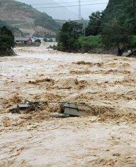 陇南7县区遭受洪涝灾害