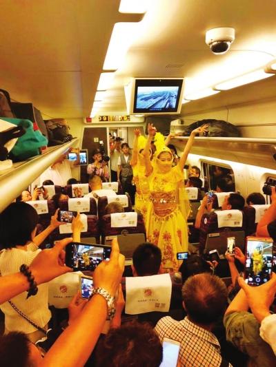 宝兰高铁开通一周年 累计发送旅客1183.61万人