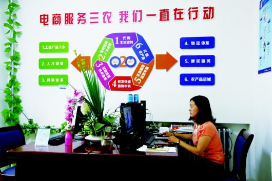 酒泉:电子商务发展掀起新高潮(图)