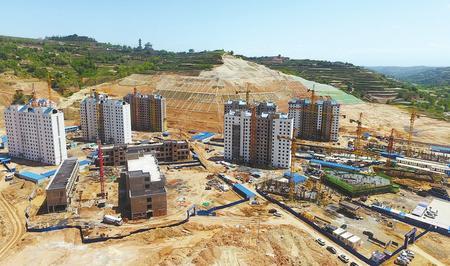 临夏州东乡县新区建设稳步推进
