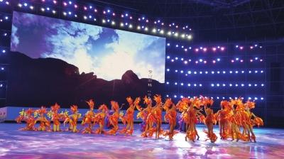 甘肃省第九届民运会昨开幕 875名运动员参加9大竞赛项目和3大类表演项目比赛