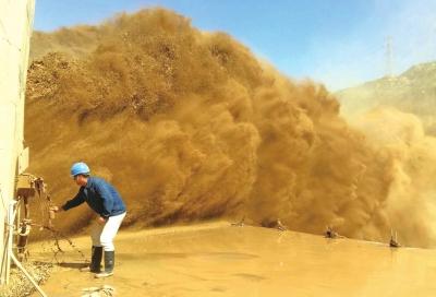 今年黄河最强沙峰来袭