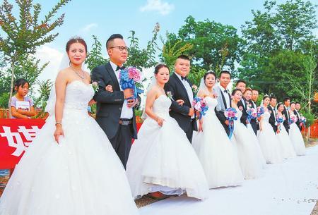 庆阳市大力倡导移风易俗 先后成功举办多场集体婚礼