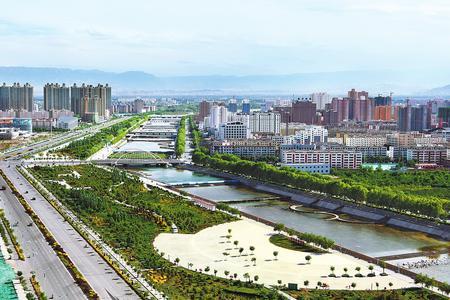 武威市大力实施绿地倍增行动 城市绿化率明显提升(图)