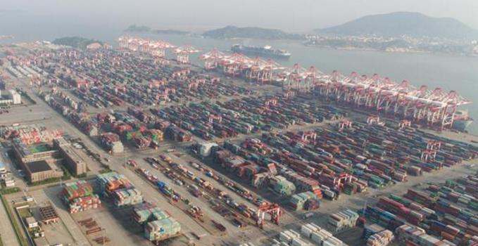 俯瞰上海国际航运中心新坐标——洋山深水港区