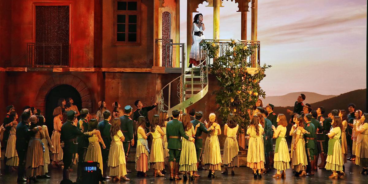 【最甘肃·文化】兰州音乐厅版经典歌剧《卡门》在兰首演(组图)