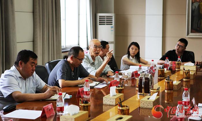 甘肃红色题材电影《叶子红了》剧本研讨会在兰召开(图)
