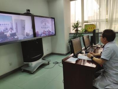 甘肃省远程医疗会诊中心已成为全国最大、使用率最高的会诊网络