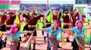 白银景泰县举办2018年全民健身活动大赛(图)
