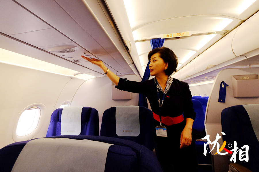 【陇人相】从业31载的乘务长段淑玲:我愿飞到退休