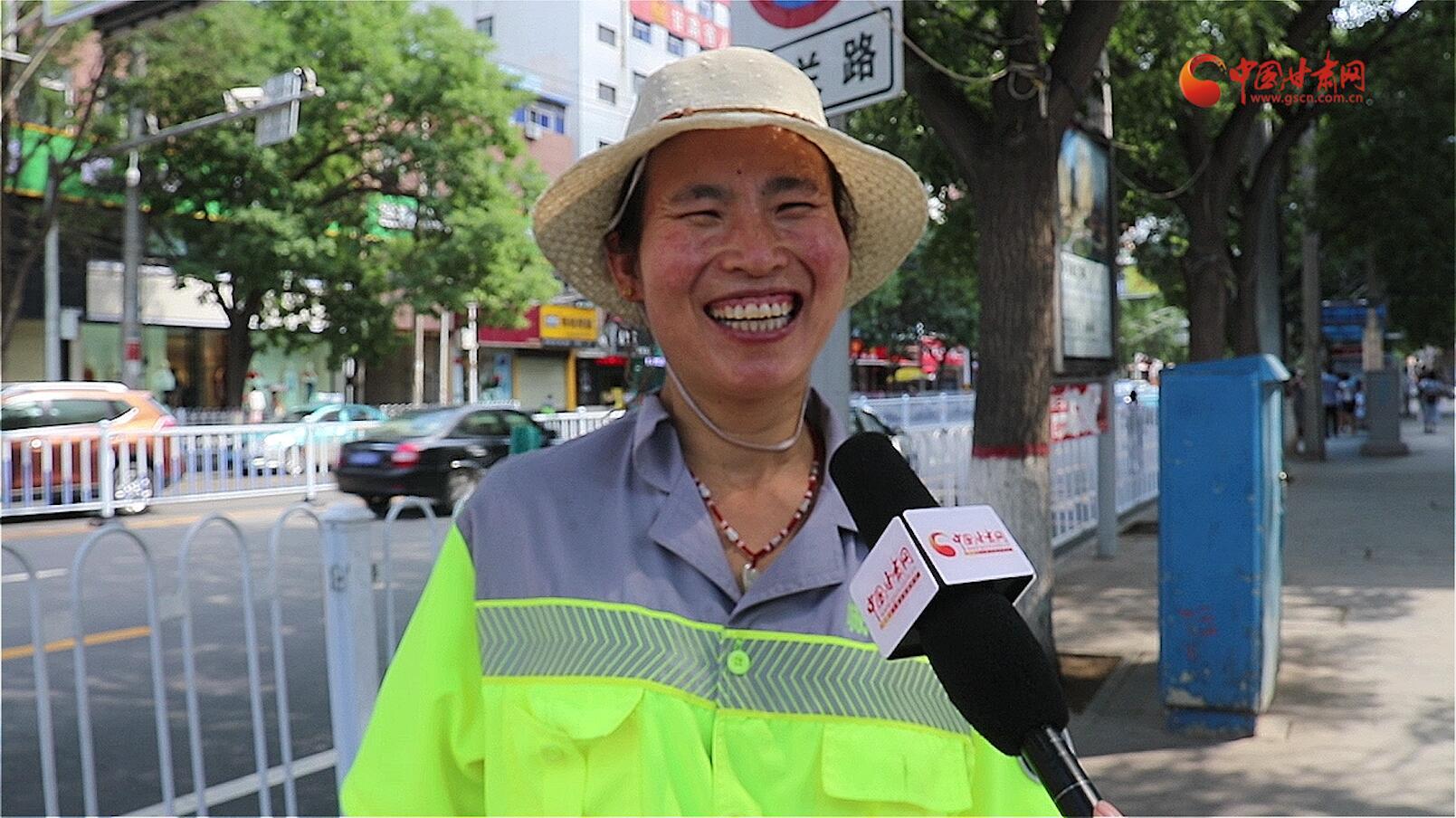 【洋芋蛋·视频】烈日下的坚守:环卫工人 你们辛苦了