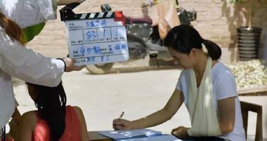 本土精准扶贫题材电影《马莲花开》在白银景泰开机