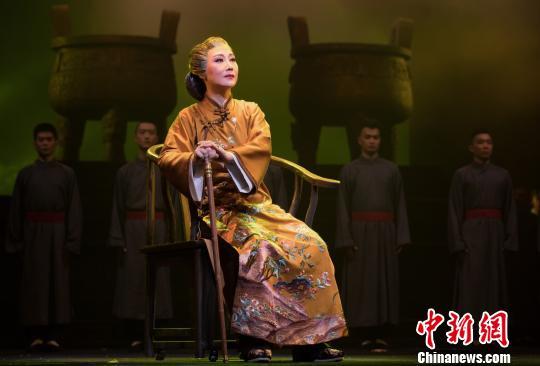 苏剧《国鼎魂》晋京首演 讲述国宝护宝人的故