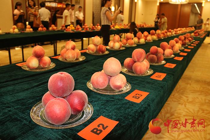 国家桃产业技术体系秦安县第三届蜜桃鉴评会举办