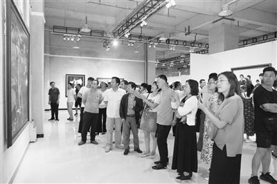 定西通渭书画文化艺术节启幕