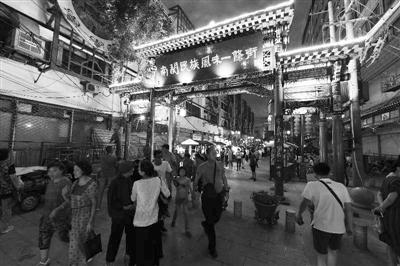 """南关民族风味一条街夜市正式开张 180余家名优小吃寻回""""老兰州""""味道"""