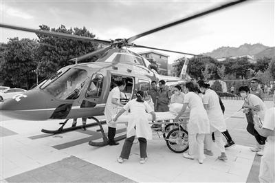 甘肃开启空中救援新通道:今后突发疾病紧急转运可乘直升机送医救治了