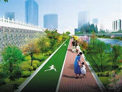 兰州将再建2924米黄河河道健身步道