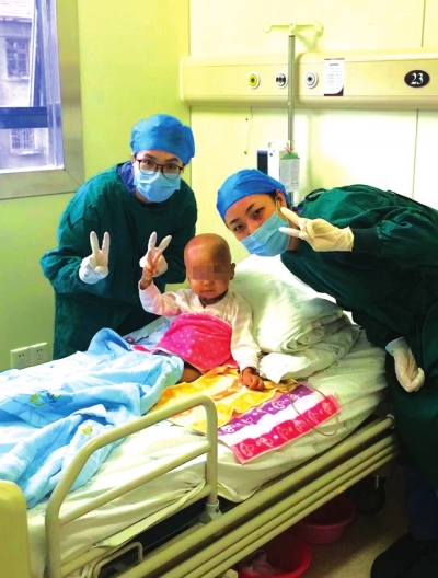 甘肃:造血干细胞移植挽救3岁癌症患儿生命