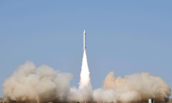 双曲线一号商业亚轨道火箭成功发射