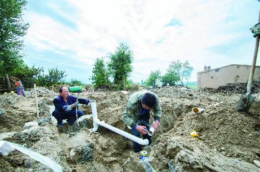 """让受灾群众生活有保障 走近酒泉肃州区""""8·20""""暴洪灾害受灾群众"""