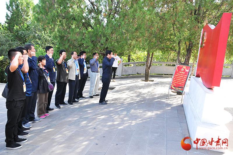 甘肃省延安精神研究会新一届领导成员赴延安学习考察侧记(图)