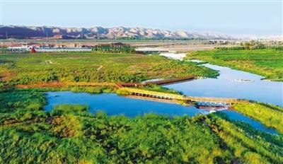 兰州秦王川国家级湿地公园开园迎客(图)