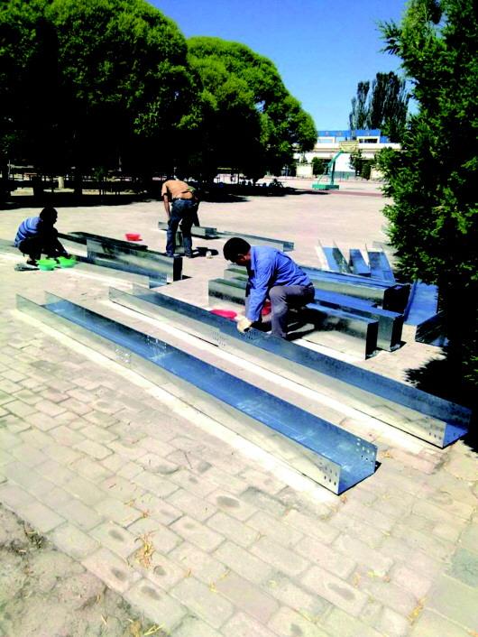 酒泉金塔县学校供热、供餐模式步入绿色环保快车道(图)