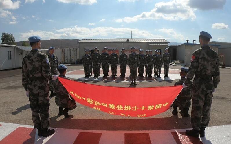 通讯:去国万里 不忘旗帜——中国赴黎维和医疗分队开展特别教育活动