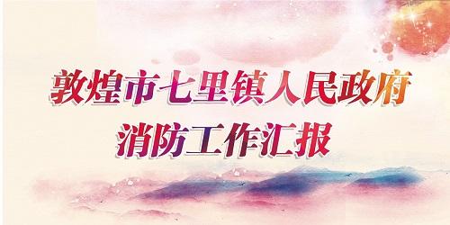 """""""119""""消防奖先进集体——七里镇镇政府"""