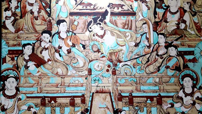 当莫高窟邂逅油画 敦煌邀您看东方文化的世界表达