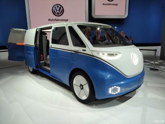 大众I.D. Buzz Cargo概念车全球首发