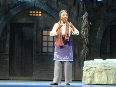 """""""省京""""出了个小老旦——点赞《盘龙岭》女一号演员陈韵竹"""