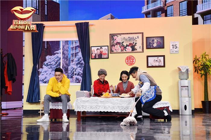 张小斐亮相《首届中国相声小品大赛》成操心老妈