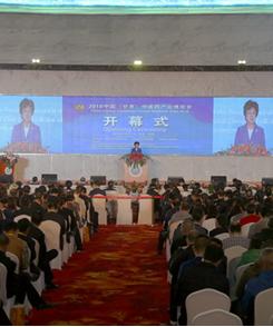 首届中国(甘肃)中医药产业博览会今日在陇西县开幕(组图)