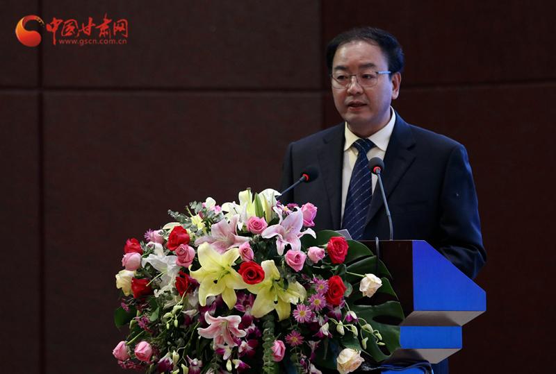 甘肃省中医药产业招商大会在陇西召开 张世珍出席大会并致辞
