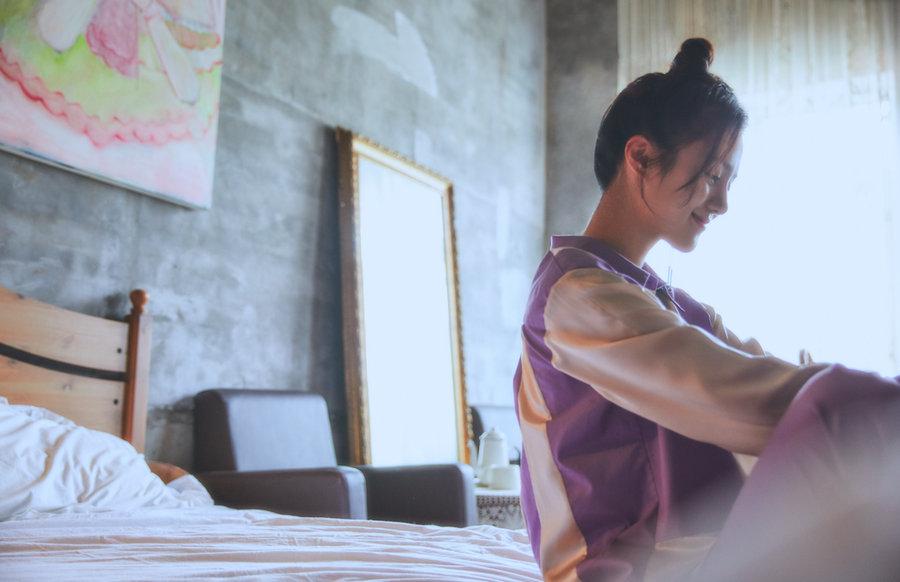 安悦溪最新写真 花式展现少女力