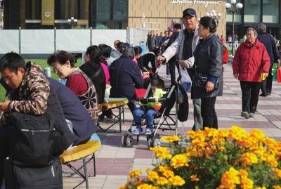 甘肃省内近日局部有雨 兰州市天气晴朗