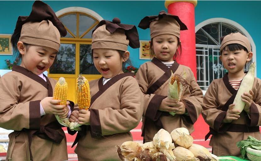 学农识 惜粮食